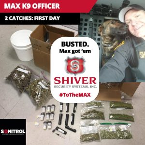 Max K9 Officer's First Day