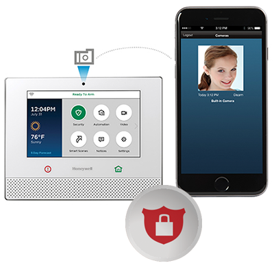 Smart Home Security iPhone and Tablet