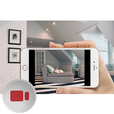 Home Security Camera on iPhone