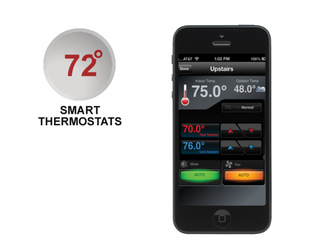 Adjust your thermostats