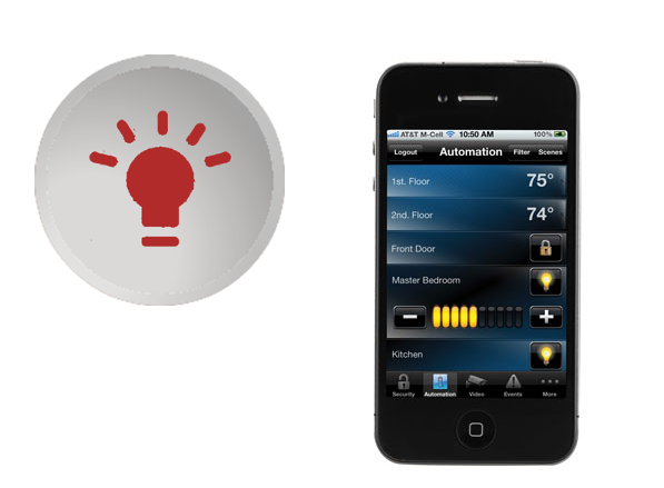 Turn your lights on/off with iPhone